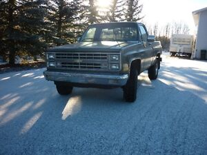 1985 Chevrolet Shortbox 4x4