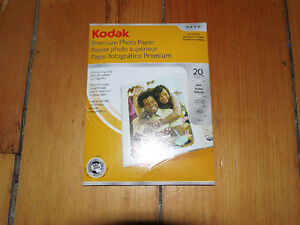 Kodak Premium Photo Paper 4x6 19 sheets