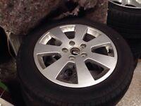 Alloy wheel set of four