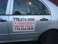 DRIVING SCHOOL-ICBC LICENSED-OFFERING LOW PRICED DRIVING LESSONS