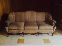 French Provincial Couch-excellent condition-50 years old