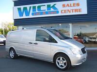 2011 Mercedes-Benz VITO 113 CDI EXTRA LWB 130ps Van *NO VAT* Manual Medium Van