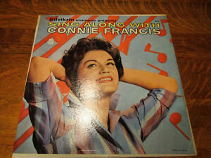 Connie Francis 33 rpm