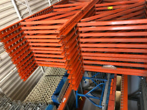 ORGANIZE YOUR STORAGE -  GET NEW & USED PALLET RACKING
