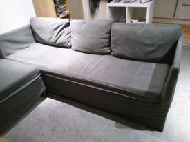 Sofa, convertible to double bed