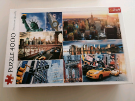 Jigsaw Puzzle of New York, 4,000 pieces