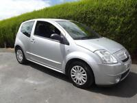 CITROEN C2 1.4HDi SX WITH BRAND NEW MOT, DRIVES VERY WELL, £30 A YEAR ROAD TAX