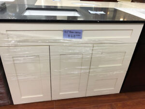 """42"""" maple solid wood vanity cabinet on CLEARANCE!!!!"""