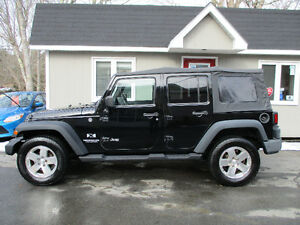 2008 Jeep Wrangler Unlimited X automatic!