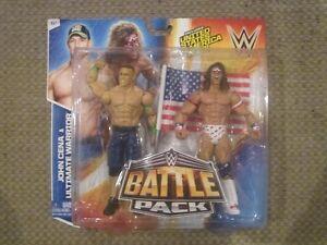 WWE Ultimate Warrior & John Cena 2-Pack Figures