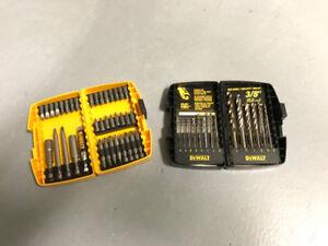 Dewalt Drill Bit and Screwdriver Set of 2
