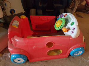 Toy laugh and learn Car