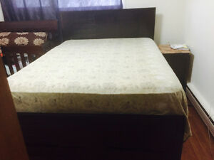 New Bedroom set including (bed , side tables, dressing, mirror)