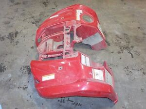 YAMAHA GRIZZLY 450 10/08/14 FRONT FENDER (USED) RED
