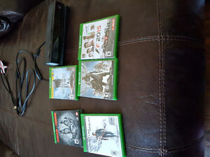 Xbox one kinect & Games