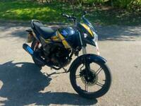 Honda CBR 125 R-5 2019 Black Yellow 125cc Learner Legal Petrol Manual Motorbike