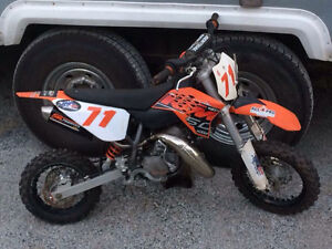 2014 KTM 50 cc dirt bike for sale