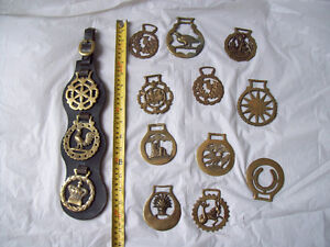 Brass Horse Medallions+ Ceramic/pottery HORSE * SEE EACH PRICE