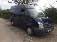 07 REG FORD TRANSIT T260 130 GLX SWB SEMI HIGH TOP