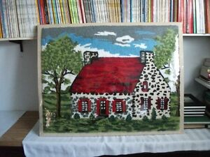 Tapis (tapisserie) crocheté - artisanat