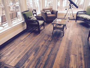 CUSTOM LONG LENGTH HARDWOOD FLOORING & V-JOINT PINE Kawartha Lakes Peterborough Area image 1
