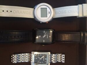 Hugo boss, fossil, Kenneth Cole watches