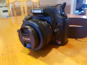 Canon T1i with extras
