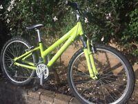 "Girls Mountain bike. 24"" RIDGEBACK ""Destiny"""