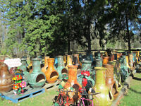 MEXICAN POTTERY/CHIMINEA