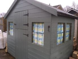 Full size shed, or play house for children
