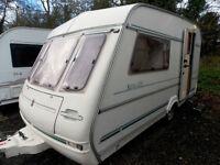 Compass Rallye 400/2 GTE 1994 2 Berth End Ktichen Lightweight Touring Caravan