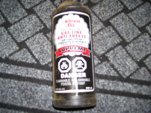 10 BOTLES 500 ML GAS LINE ANTIFREEZE