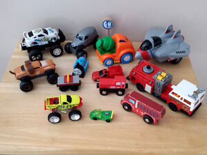 toys ... Monster Cars, Airplane,Trucks, trains ... more as shown Cambridge Kitchener Area image 1