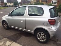 Toyota Yaris 1.3||full service history||cheap insurance||quick sale needed||not polo corsa micra