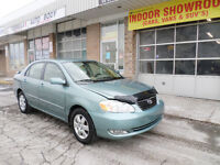 2005 Toyota Corolla LE WITH WARRANTY