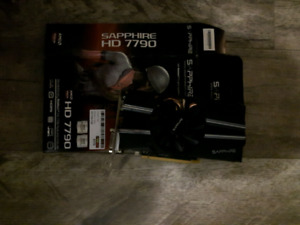 Sapphire Radeon HD 7790 video card.