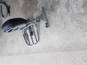 Harley Davidson Fatboy backrest will fit other bikes as well