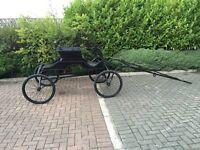 Hackney box show wagon carriage