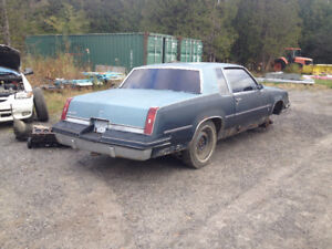 Parting out '84 Cutlass
