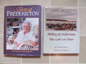 Books Faces of Fredericton, History of Fredericton