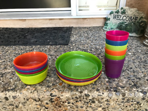 IKEA set of 6 toddler dishes