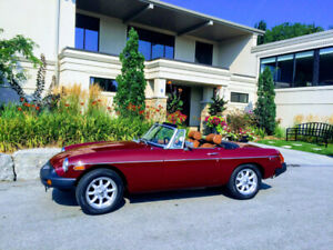 1975 MGB - 50th Anniversary Edition