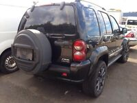2006 jeep Cherokee damaged unrecorded 4x4 diesel