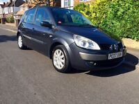 2007 Renault Scenic 1.6 MPV with 1 Year MOT