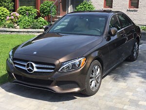 TRANSFERT de location. 2017 Mercedes-Benz C 300  4 matic Premium