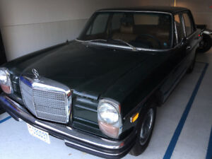 1970 Benz with full service history from dealership