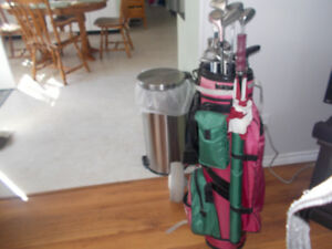 ladies golf clubs with bag