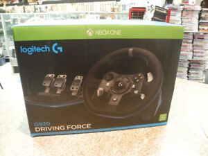 Logitech G920 Driving Force Wheel/Pedals for Xbox One/PC