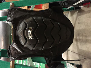 Speed and strength motorcycle vest