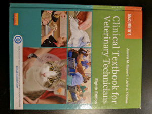 Clinical Textbook for Veterinary Technicians 8th edition